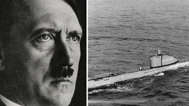 ФОТО: Гитлердің суасты қайығы 73 жылдан кейін табылды
