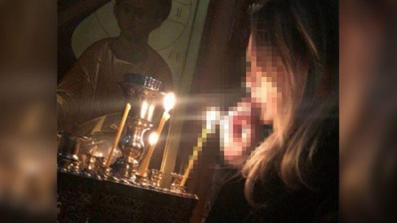 ФОТО: В Магнитогорске подростки прикурили сигарету от свечи в храме