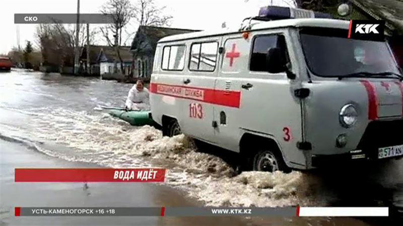 Вода приближается к Петропавловску