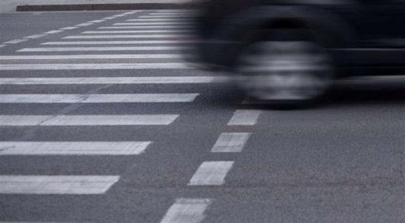 ВИДЕО: Петропавлда Toyota жаяу жүргінші қағып кетті