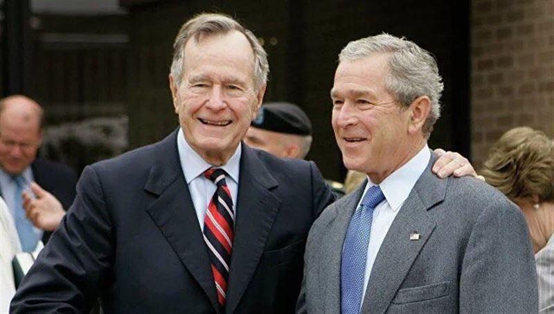 Джордж Буш жан сақтау бөліміне түсіп қалды