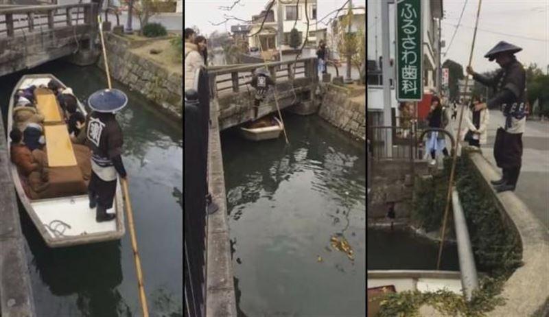 ВИДЕО: Японский гид впечатляюще обошел препятствия