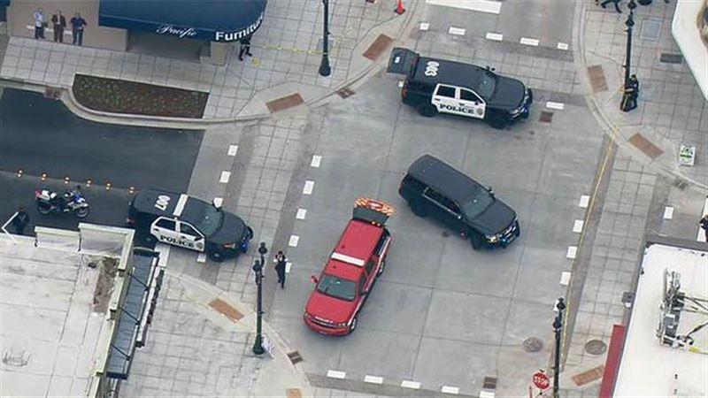 ФОТО: Американец сбил троих пешеходов, надеясь пропустить рабочий день