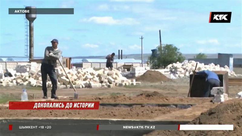 Актюбинские археологи негодуют, что села и районы строят на древних погребениях