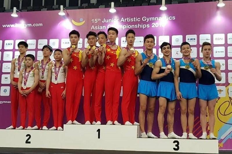 Қазақстандық гимнастшылар Азия ойындарында үшінші орын алды