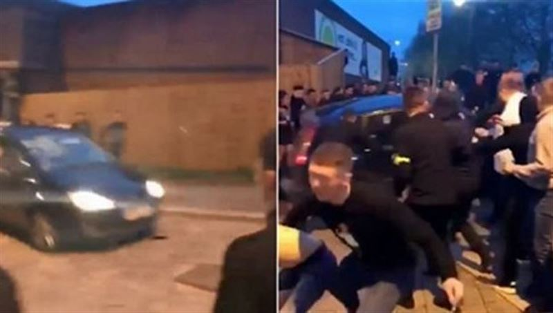 В Британии водитель трижды совершил наезд на толпу людей