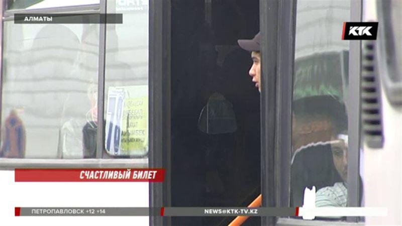 От нелегальных кондукторов алматинским перевозчикам отказываться невыгодно