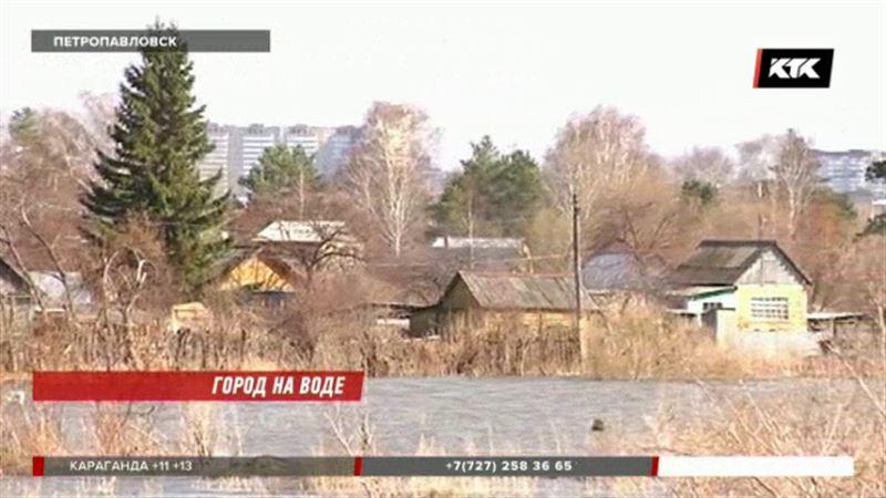 Вода «закрыла» дачный сезон в Петропавловске – 1200 дач затоплено
