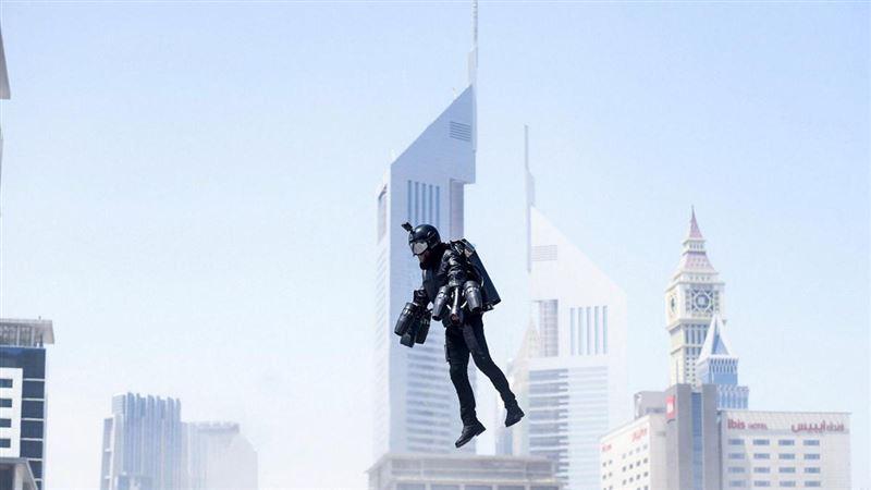 ВИДЕО: Британский «железный человек» показал свой костюм в Дубаи
