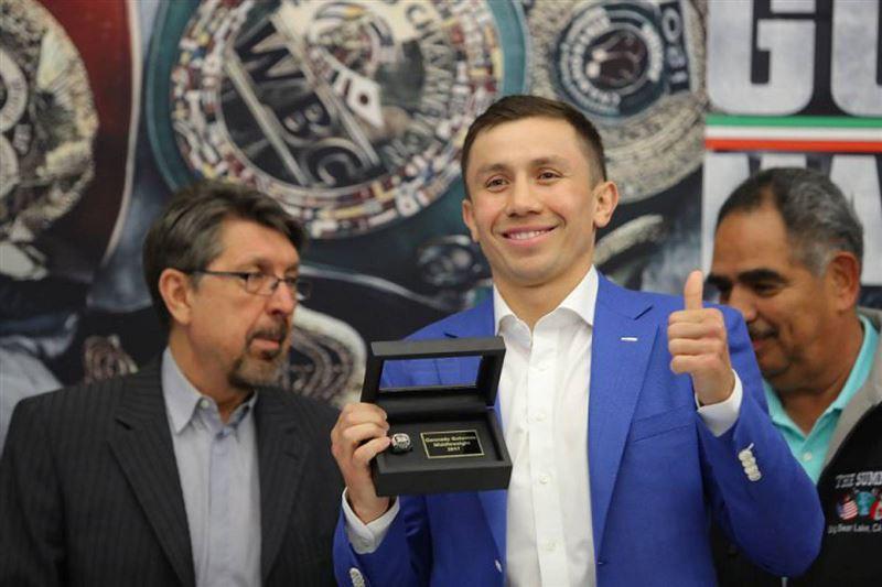 Головкин Халықаралық бокс федерациясынан арнайы сыйлық алды