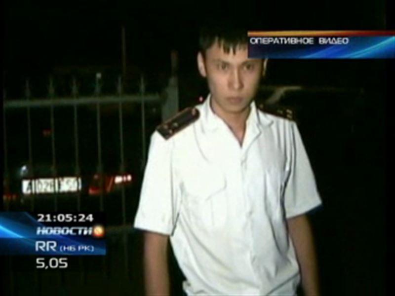 В Алматы задержали очередного лжеполицейского