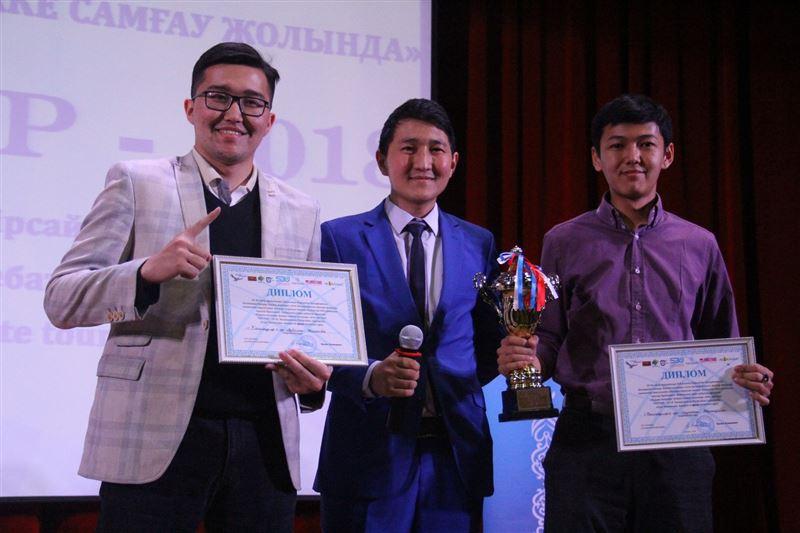 В Алматинской области выбрали самых красноречивых студентов!