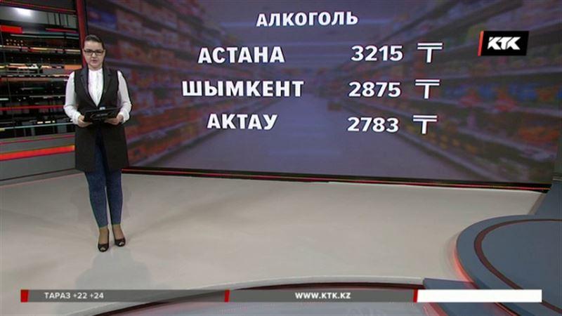 Пиво, водку и вино казахстанцы стали потреблять больше, несмотря на цены