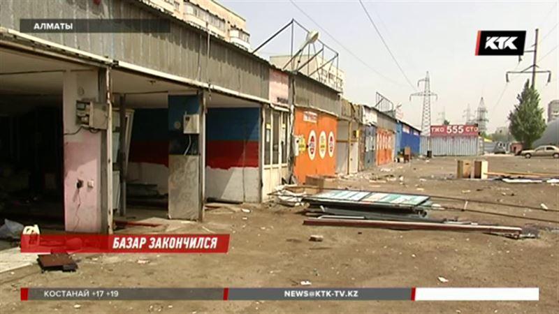Самый известный авторынок Алматы сносят