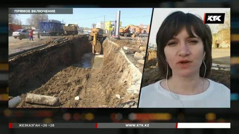 Треть Уральска без воды – виновных ищут