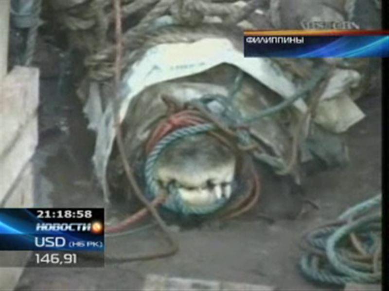 На Филиппинах поймали крокодила-людоеда
