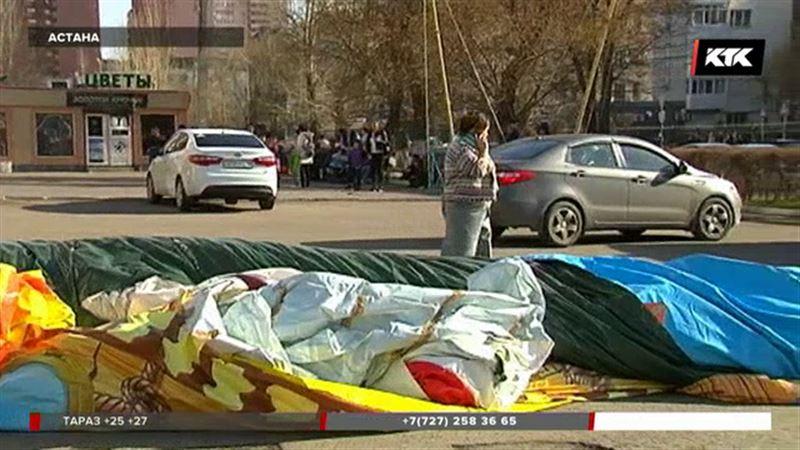 «Угроза жизни есть»: ветер перевернул батут с детьми, четверо в тяжёлом состоянии