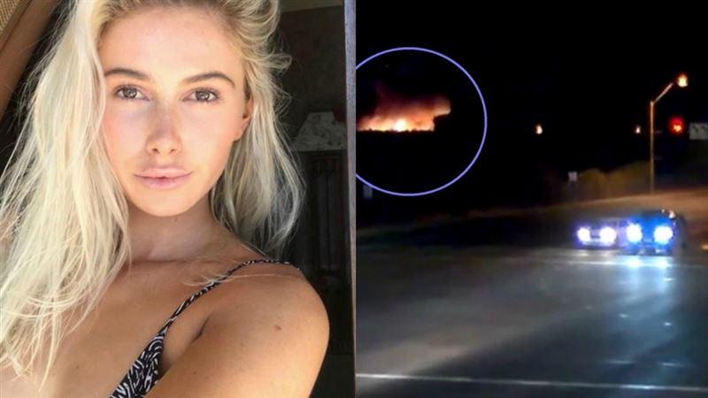 Крушение самолета, в котором погибла известная модель, попало на видео