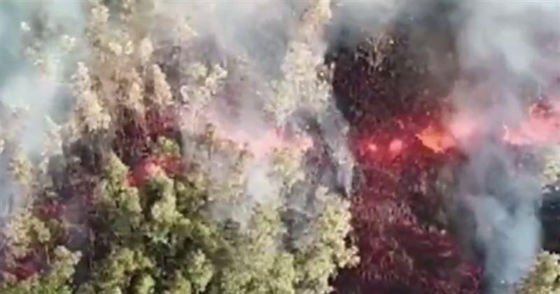 На Гавайях возле вулкана произошло землетрясение магнитудой 6,9