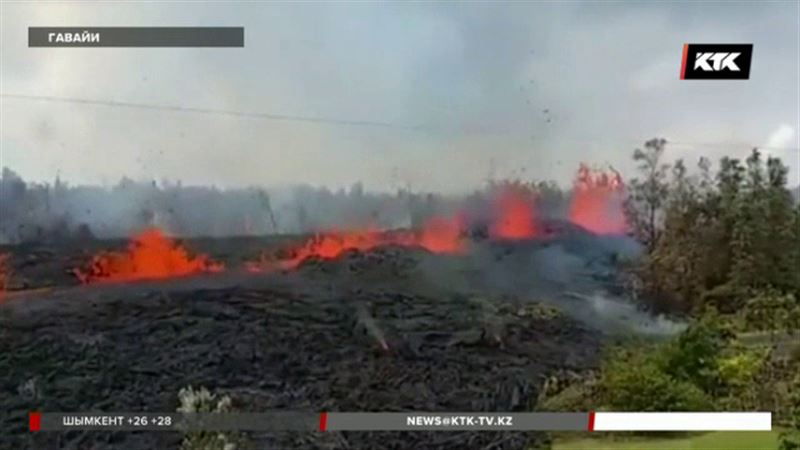 На Гавайях эвакуация