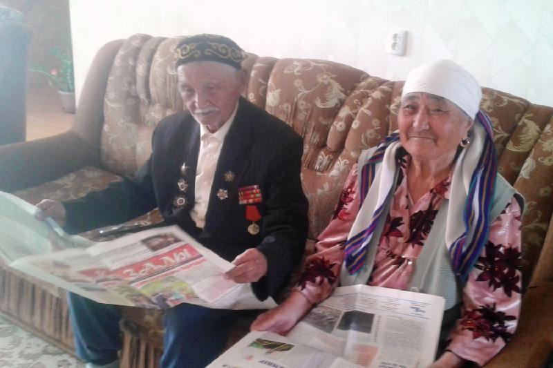 95 жастағы соғыс ардагері ағаш өсіріп, бақша баптап жүр