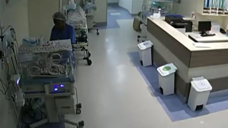 ВИДЕО: Алжасқан медбике жаңа туған 4 нәрестені өлтірмек болған