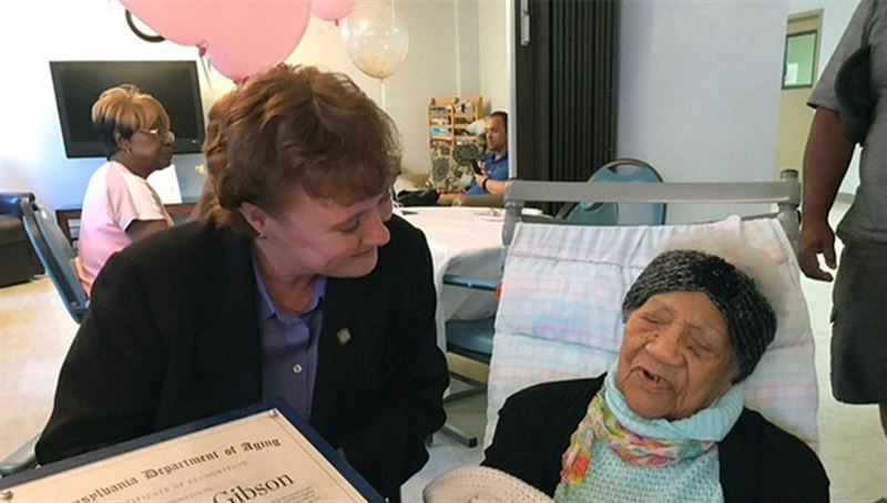 В США скончалась старейшая жительница страны