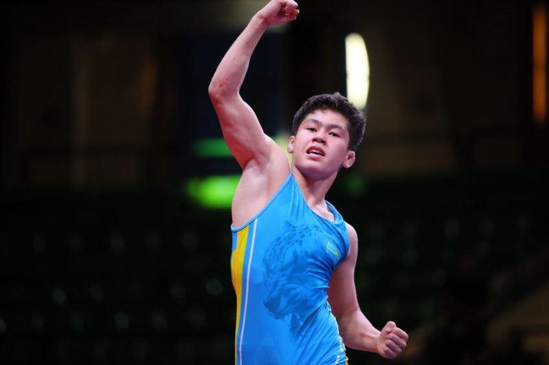 Жас балуанымыз Азия чемпионатында жеңімпаз атанды