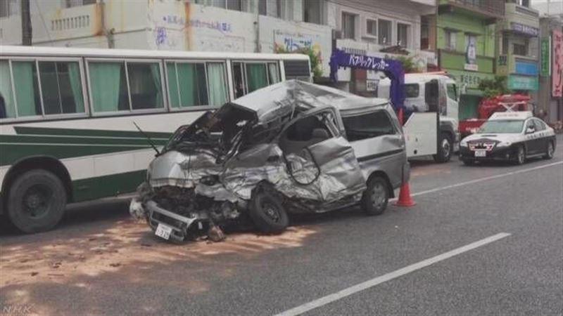 ДТП со школьным автобусом в Японии: пострадали 18 человек
