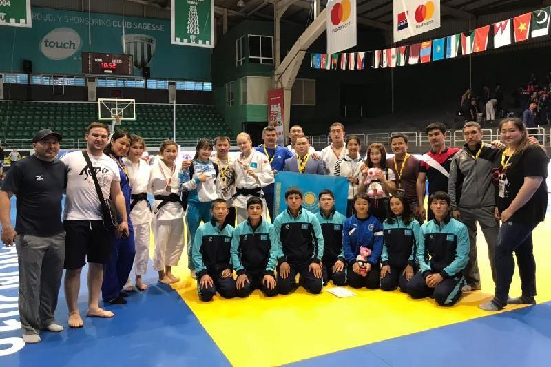 ҚҚазақстандық жас дзюдошылар Азия чемпионатында 6 алтын алды