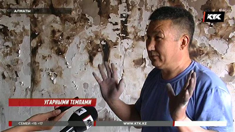 Погорельцы из алматинского микрорайона все еще не могут вернуться в свои квартиры