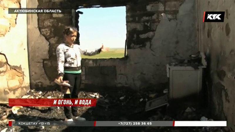 33 несчастья: у семьи, пострадавшей от наводнения, теперь сгорел новый дом