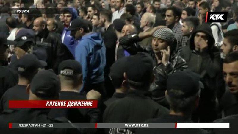 Акция протеста тбилисской молодежи едва не переросла в кровавую бойню