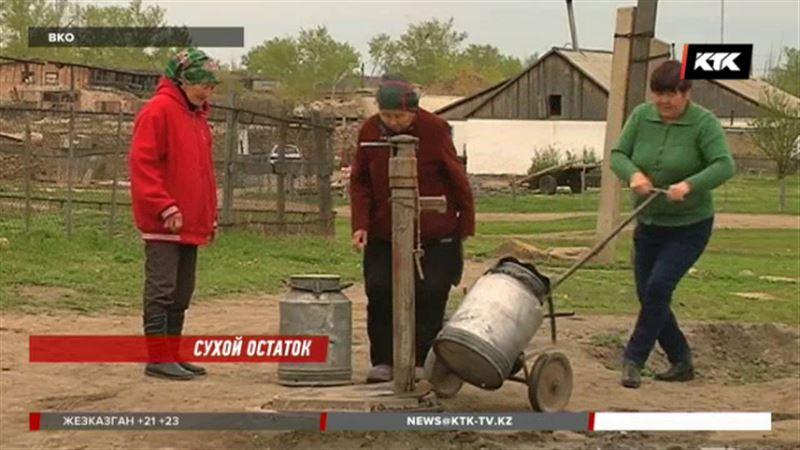 В восточноказахстанском селе раздор: у одних есть водопровод, у других - нет