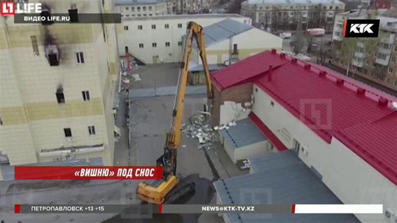 На месте «Зимней вишни» в Кемерове разобьют сквер