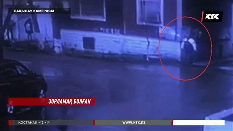 Павлодар облысында қаршадай қызды зорламақ болған азғынның әрекеті камераға түсіп қалды