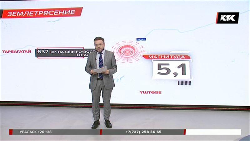 Землетрясение в Алматинской области – 5,1
