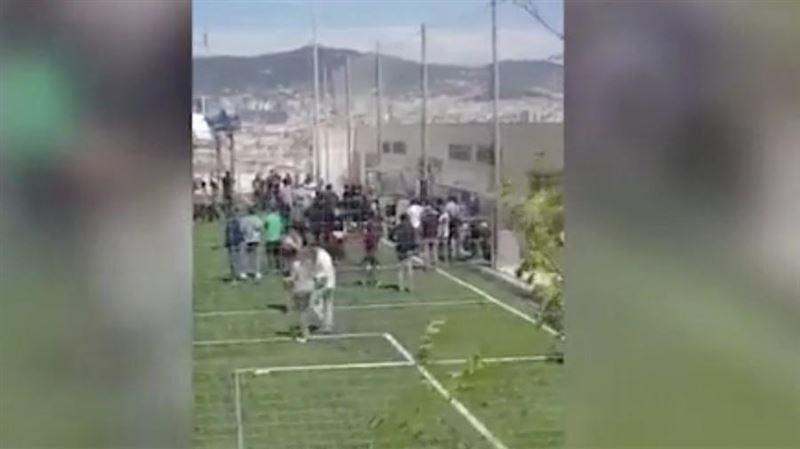 На стадионе в Барселоне обрушилась трибуна: много пострадавших