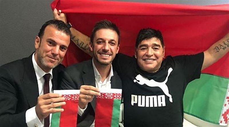 Марадона стал председателем правления брестского «Динамо»
