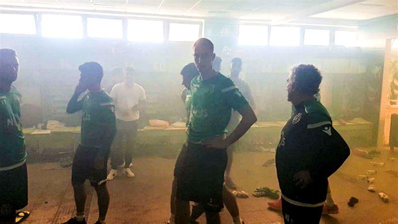 Футболисты «Спортинга» были избиты своими фанатами