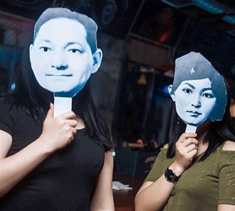В День Победы в ночном клубе Актобе были развешаны портреты Гитлера и Героев ВОВ