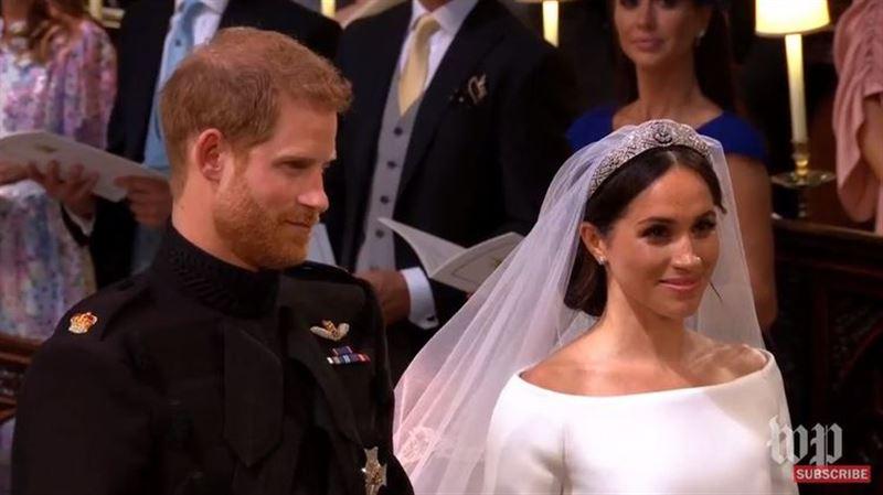 ВИДЕО: Бүгін принц Гарри мен актриса Меган Марклдың некелесу салтанаты өтіп жатыр