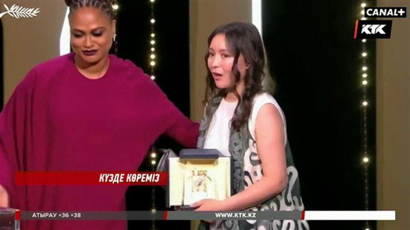 Самал Есләмова ТМД елдері ішінде Канн кинофестивальінде жүлде алған алғашқы актриса