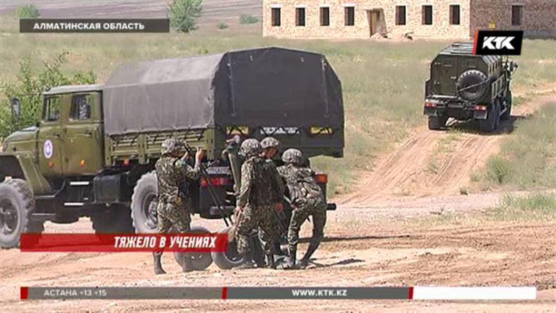 Вооруженные боевики разгромлены в Алматинской области