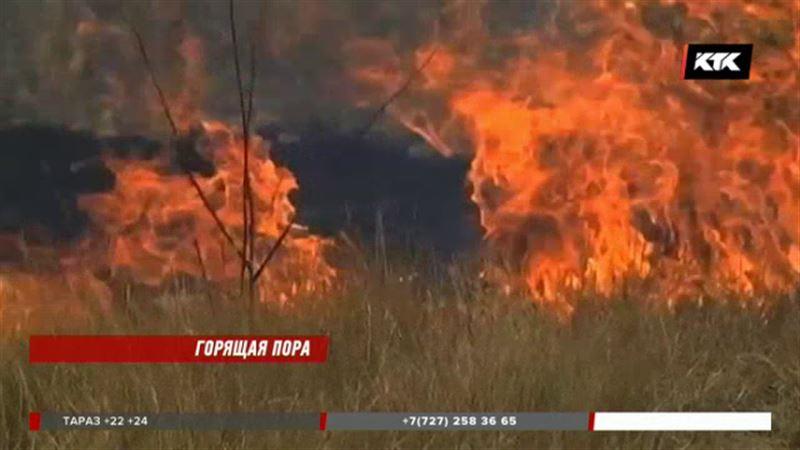 В регионах нет техники для тушения пожаров