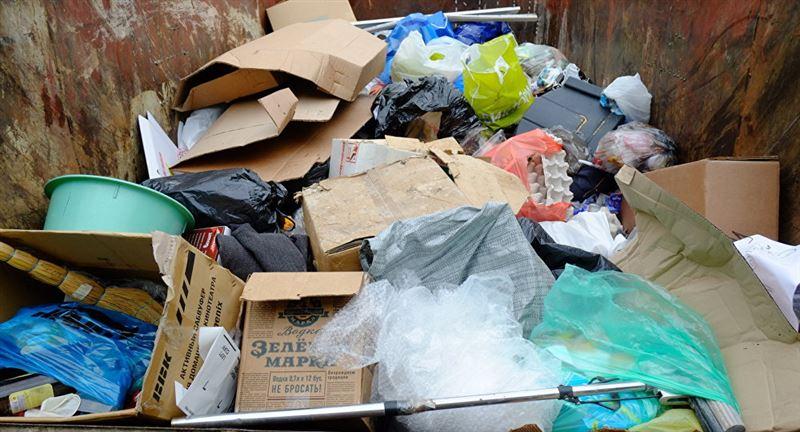 В Костанае найденный в мусорном баке младенец скончался