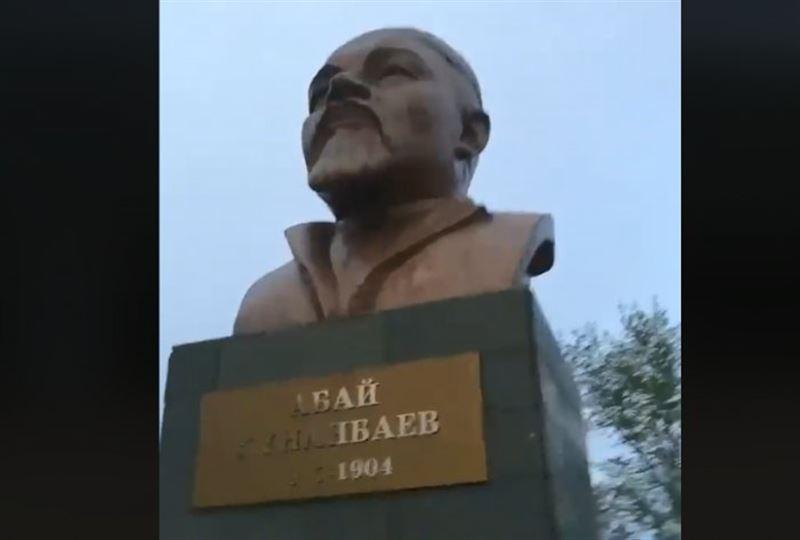 Лениннен Абайға айналған мүсінге қатысты ресми ақпарат берілді