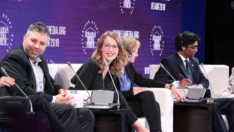 На ЕАМФ Собчак рассказала о домогательстве и встала на сторону секс-меньшинств