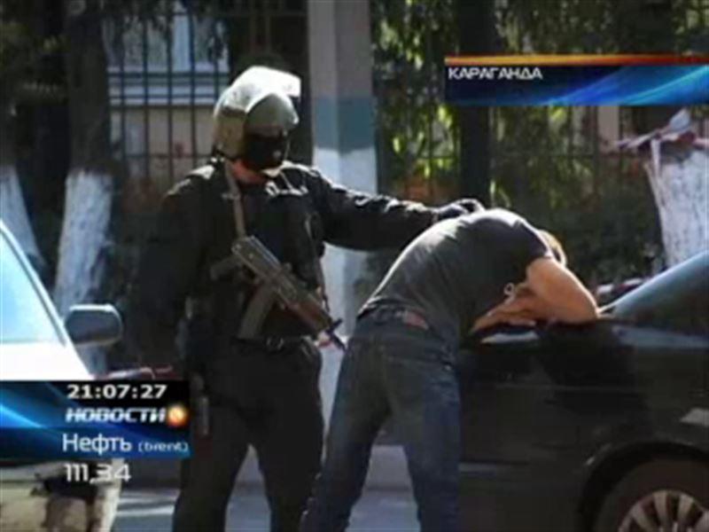 В Караганде  в собственном автомобиле расстреляли офицера