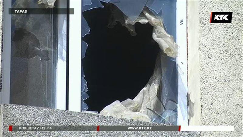 В таразской многоэтажке сгорела 5-летняя девочка